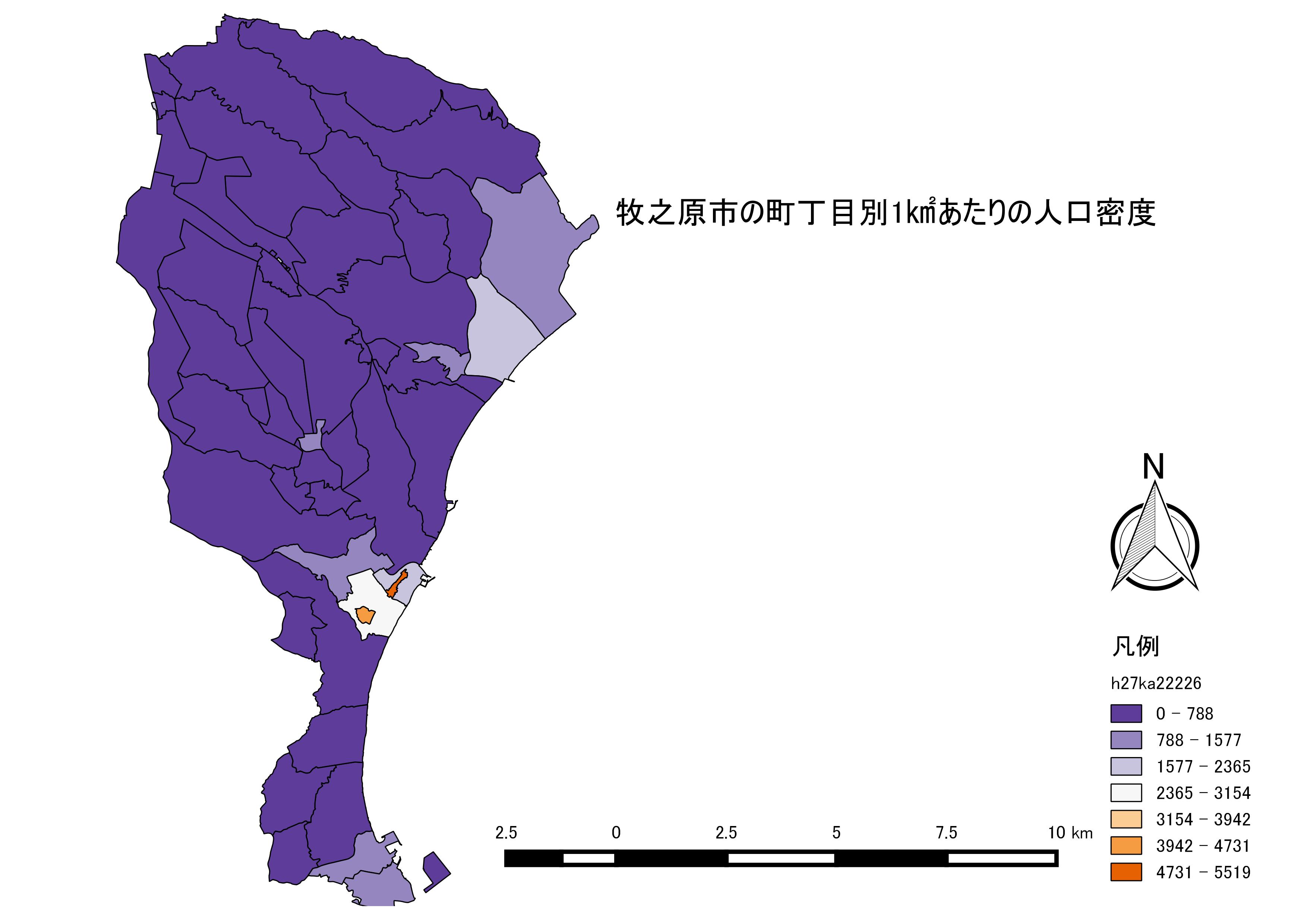 密度 世界 の 人口
